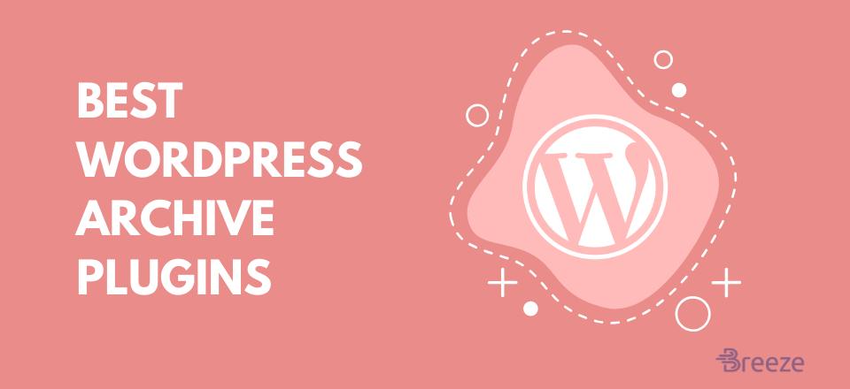 Best WordPress Archive plugin